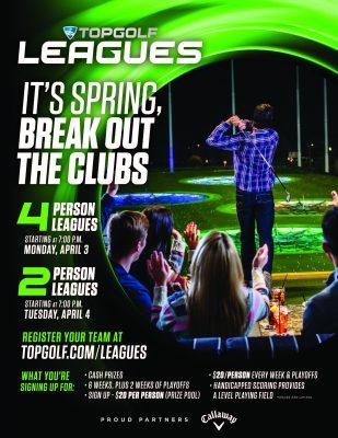 Topgolf Spring Leagues