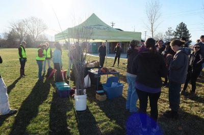 TreeUtah Spring Kickoff Willow Planting