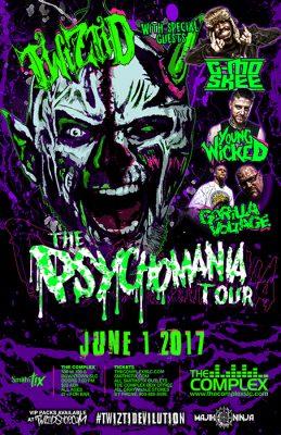 Twiztid - The Psychomania Tour