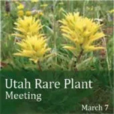 Utah Rare Plant Meeting 2017