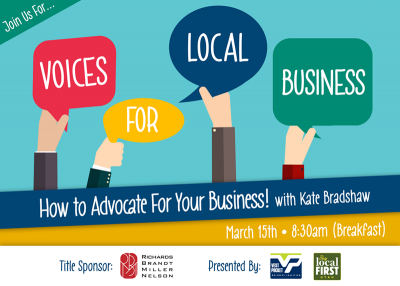 Voices for Local Business: How to Advocate for Your Business