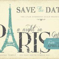 "Utah Symphony Guild Presents ""A Night in Paris"""
