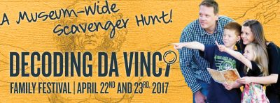 Decoding da Vinci Scavenger Hunt
