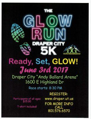 Draper Glow Run 5K 2017
