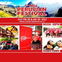 7 Peruvian Festival Downtown SLC