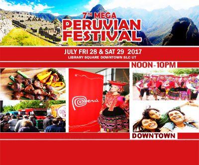 7 Peruvian Festival Downtown SLC