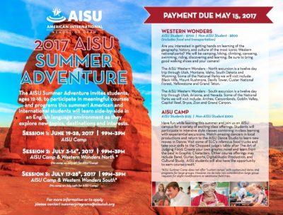 AISU Summer Adventure