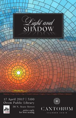Cantorum Chamber Choir: Light and Shadow