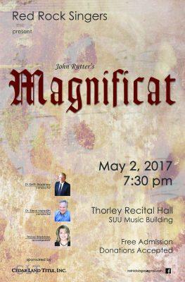 "John Rutter's ""Magnificat"""