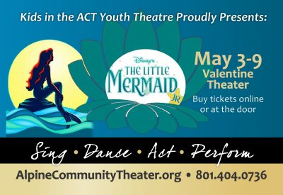 """Kids in the ACT Youth Theater Presents: """"Disney's The Little Mermaid Jr."""""""