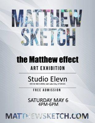 Matthew Sketch Art Exhibit