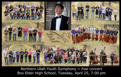 Northern Utah Youth Symphony and Chamber Orchestra Season Finale Concert