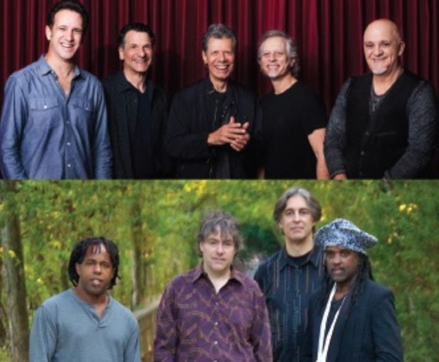 Red Butte Garden Outdoor Concert Series Chick Corea Elektric Band Bela Fleck And The Flecktones
