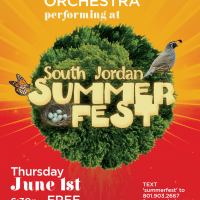Sojo Summerfest Concert by Utah Philaharmonic Orchestra