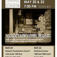 Salt Lake Symphonic Choir Presents Mountain Home Music