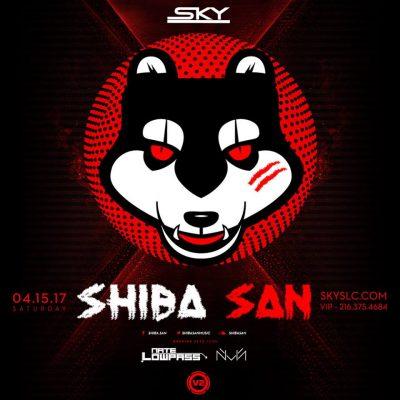 Shiba San at Sky