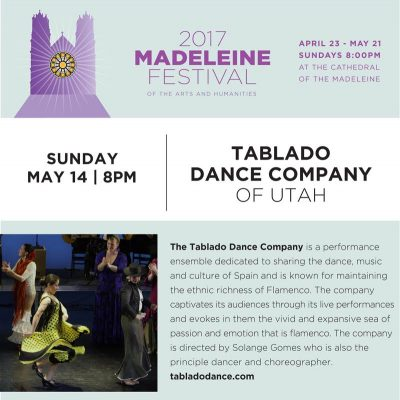 The Madeleine Festival Presents Tablado Dance Company