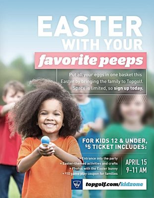 Topgolf's Easter Party