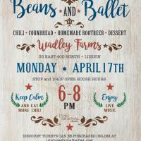 Utah Regional Ballet - Beans and Ballet - Entertainment and Dinner