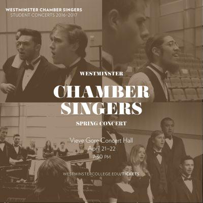 Westminster Chamber Singers Spring Concert
