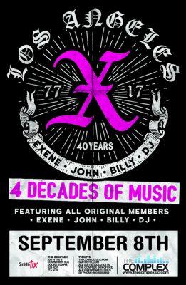 X - 40th Anniversary Tour