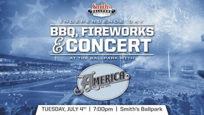 July 4th Celebration with America Concert