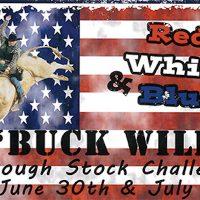 "Red, White & Blue ""Buck Wild"" Rough Stock Challenge"