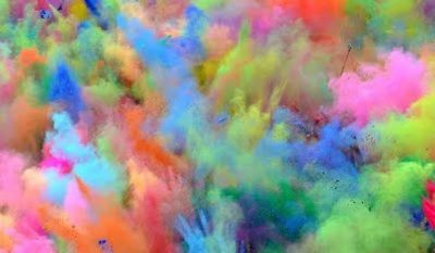 Chalk Toss Color Festival