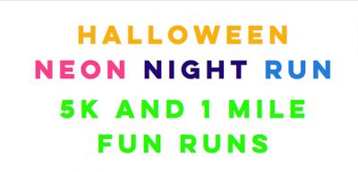 Hurricane Halloween Neon Night Run
