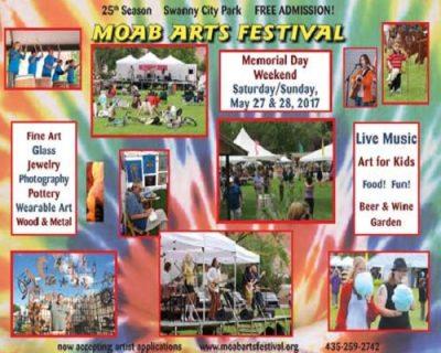 25th Annual Moab Arts Festival
