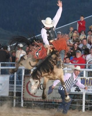 82nd Annual Oakley Rodeo and 4th of July Celebrati...