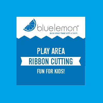 Blue Lemon Play Area Ribbon Cutting!