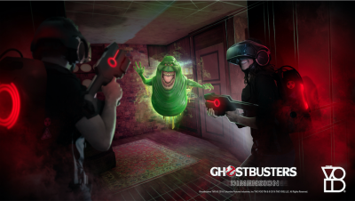 Ghostbusters: Dimension Hyper-Reality Experience at THE VOID