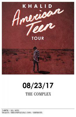 KHALID - American Teen Tour
