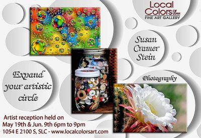 Local Colors of Utah Gallery Launches a new Artist Show for May and June