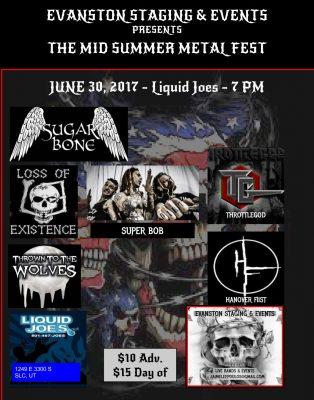 Mid Summer Metal Fest w/Sugar Bone