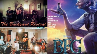 Music and Movie in the Park (Magna) The Backyard Revival and Disney's BFG