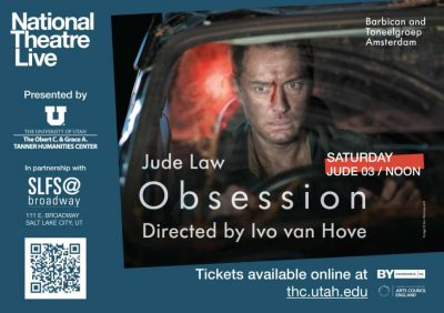 """National Theatre Live Presents """"Obsession"""""""