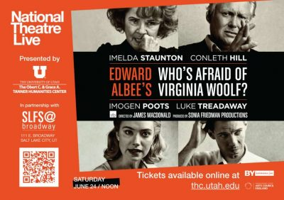 """National Theatre Live Presents """"Who's Afraid of Virginia Woolf?"""""""