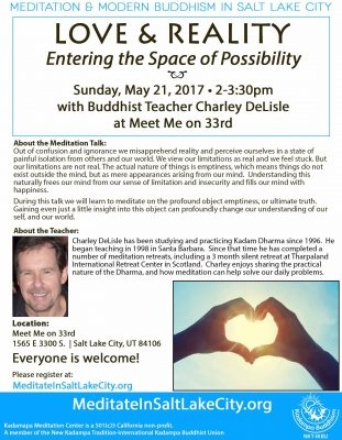 Freedom, Love and Reality: Entering the Space of Possibility with Charley DeLisle