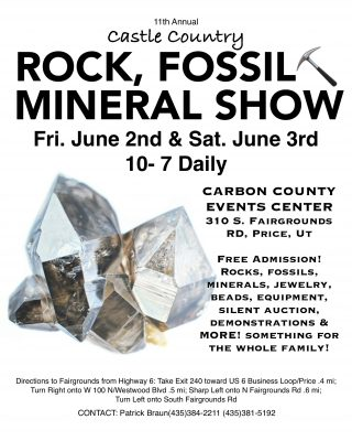 Rock, Fossil and Mineral Show