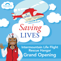 Saving Lives Exhibit Grand Opening