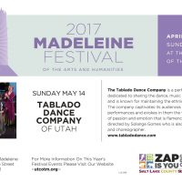Tablado Dance Company at the 2017 Madeleine Festival of Arts and Humanities