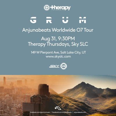 Therapy Thursday: Anjunabeats Worldwide 07 Tour: Grum