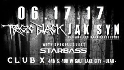 Tragic Black with Jak Syn, Starbass Live in SLC, Utah