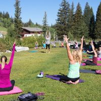 Free Outdoor Yoga Class