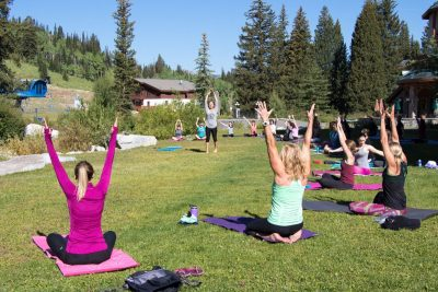 Free Outdoor Yoga Class