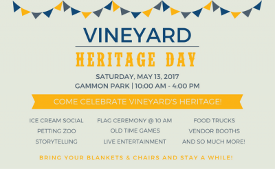 Vineyard Heritage Day