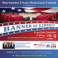 "Southern Utah Heritage Choir Presents ""Banner of Liberty"""