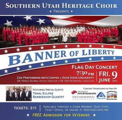 "Southern Utah Heritage Choir Presents ""Banner of Liberty"""
